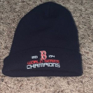 Other - Red Sox 2004 World Series champion beanie⚾️